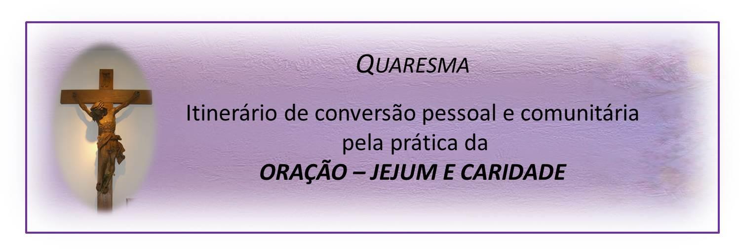 quaresma - 2020