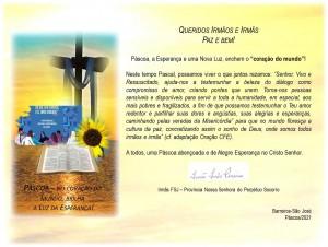 Mensagem Páscoa da PNSPS-FSJ